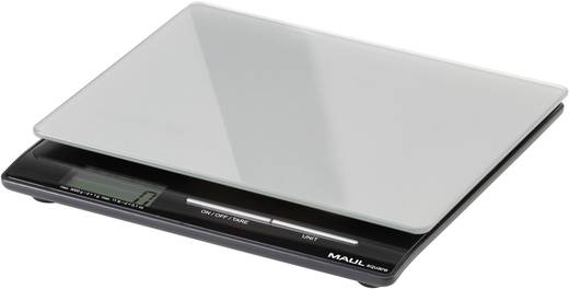 Briefwaage Maul 166 45 Wägebereich (max.) 5 kg Ablesbarkeit 1 g batteriebetrieben Silber Kalibriert nach ISO