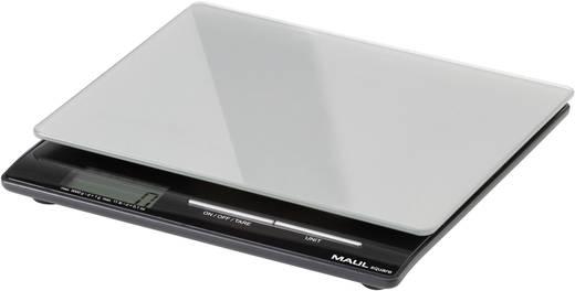 Briefwaage Maul MAULsquare 5000 g Wägebereich (max.) 5 kg Ablesbarkeit 1 g batteriebetrieben Silber
