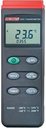 VOLTCRAFT K204 Temperatur-Messgerät -200 bis +1370 °C Fühler-Typ K Datenlogger-Funktion Kalibriert nach: DAkkS