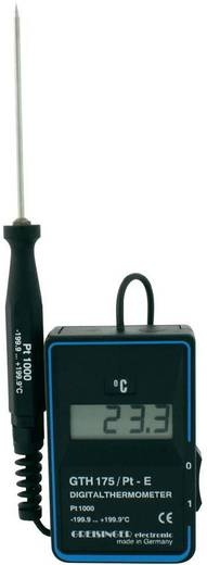 Temperatur-Messgerät Greisinger GTH 175/PT - WPT3 -199.9 bis +199.9 °C Fühler-Typ Pt1000 Kalibriert nach: DAkkS
