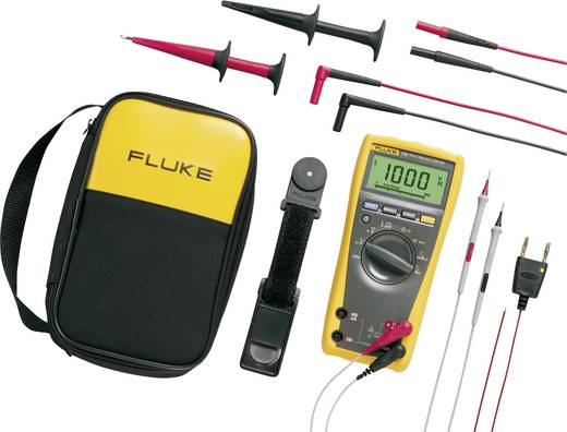 Hand-Multimeter digital Fluke 179/EDA2/EUR Kalibriert nach: ISO CAT III 1000 V, CAT IV 600 V Anzeige (Counts): 6000