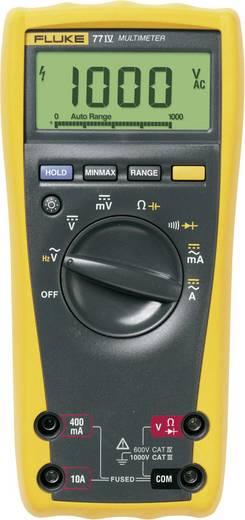 Hand-Multimeter digital Fluke 77-4/EUR Kalibriert nach: DAkkS CAT III 1000 V, CAT IV 600 V Anzeige (Counts): 6000