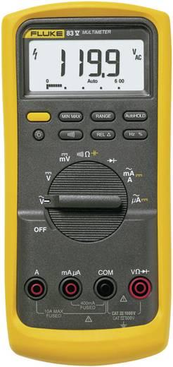 Hand-Multimeter digital Fluke 83V/EUR Kalibriert nach: Werksstandard CAT III 1000 V, CAT IV 600 V Anzeige (Counts): 600