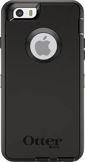 iPhone Outdoorcase Otterbox Defender Case Passend für: Apple iPhone 6, Schwarz