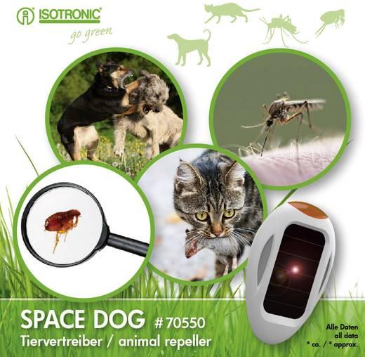 Tiervertreiber Isotronic Space Dog Multifrequenz Wirkungsbereich 30 m² 1 St.