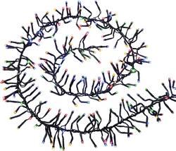 Venkovní vánoční řetěz Polarlite PLC-06-001, do sítě, 480 LED, barevné, 850 cm