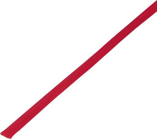 Geflechtschlauch Rot PET 5 bis 10 mm Conrad Components 1243805 CBBOX0510-RD 10 m