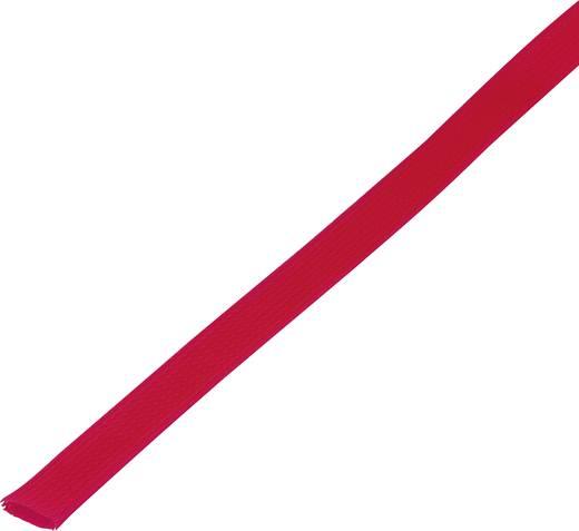 Geflechtschlauch Rot PET 30 bis 37 mm Conrad Components 1243813 CBBOX3037-RD 5 m