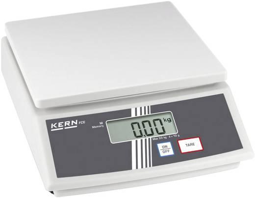 Tischwaage Kern FCE 6K2N Wägebereich (max.) 6 kg Ablesbarkeit 2 g netzbetrieben, batteriebetrieben Kalibriert nach ISO