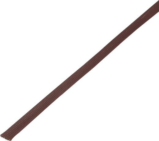 Geflechtschlauch Braun PET 5 bis 10 mm Conrad Components 1243849 CBBOX0510-BN 10 m