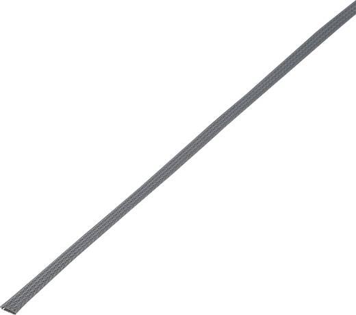 Conrad Components 1243873 CBBOX0915-GY Geflechtschlauch Grau PET 8 bis 14 mm 10 m