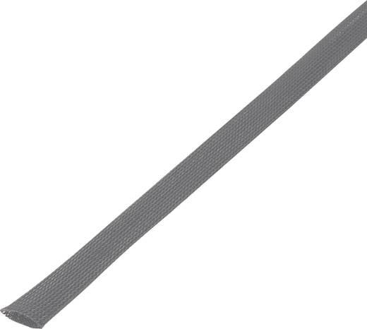 Geflechtschlauch Grau PET 30 bis 37 mm Conrad Components 1243879 CBBOX3550-GY 5 m