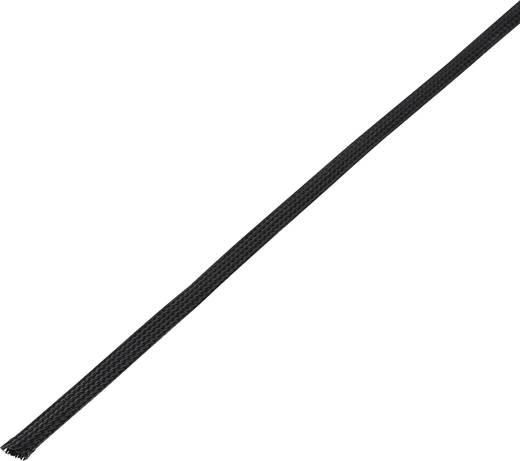 Geflechtschlauch Schwarz PET 5 bis 10 mm Conrad Components 1243882 CBBOX0510-BK 10 m