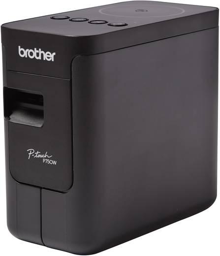 Brother P-touch P750W Beschriftungsgerät Geeignet für Schriftband: TZe 3.5 mm, 6 mm, 9 mm, 12 mm, 18 mm, 24 mm