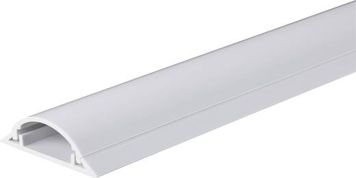 Kabelbrücke PVC Weiß Anzahl Kanäle: 1 1000 mm Conrad Components Inhalt: 1 St.