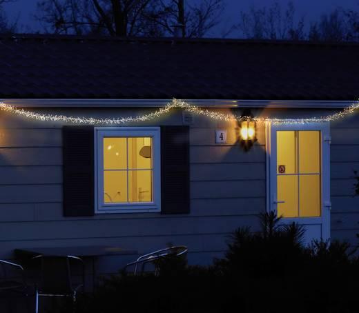 Polarlite PLC-06-002 Micro-Lichterkette Außen netzbetrieben 480 LED Warm-Weiß Beleuchtete Länge: 3 m