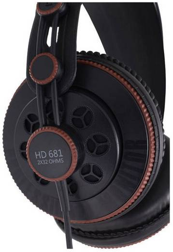 Studio Kopfhörer Superlux HD-681 Over Ear Schwarz
