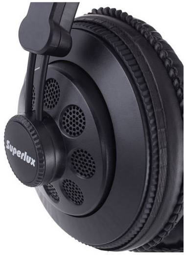 Studio Kopfhörer Superlux HD-668 B Over Ear Schwarz