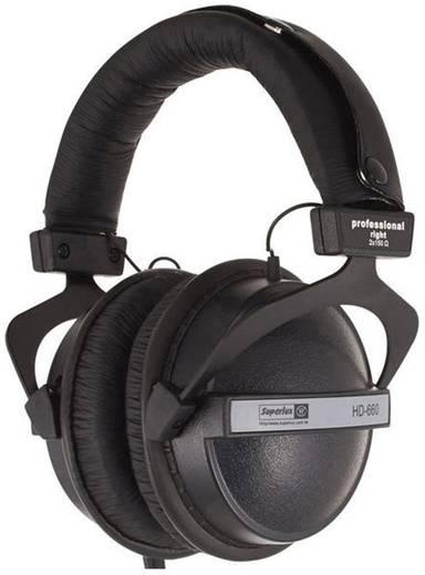 Superlux HD-660 Kopfhörer Over Ear Schwarz