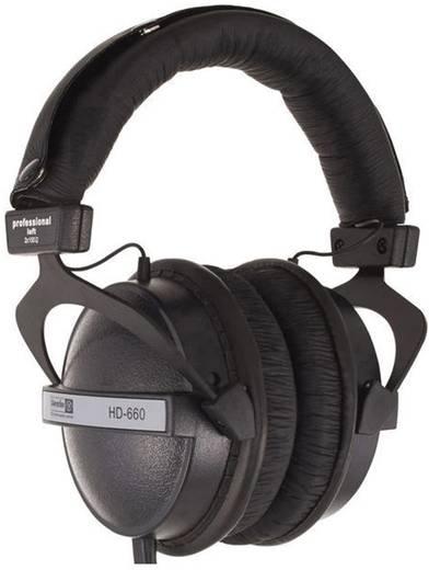 Kopfhörer Superlux HD-660 Over Ear Schwarz