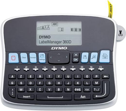 Beschriftungsgerät DYMO LabelManager 360D / FR-BE-CH Geeignet für Schriftband: D1 6 mm, 9 mm, 12 mm, 19 mm