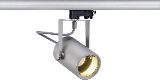 Hochvolt-Schienensystem-Leuchte 3phasig GU10 25 W Halogen, LED SLV Euro Silber-Grau