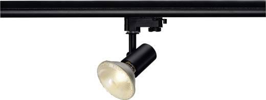 Hochvolt-Schienensystem-Leuchte 3phasig E27 75 W Halogen, LED SLV E27 Schwarz