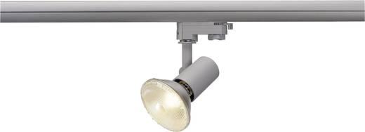 Hochvolt-Schienensystem-Leuchte 3phasig E27 75 W Halogen, LED SLV E27 Grau