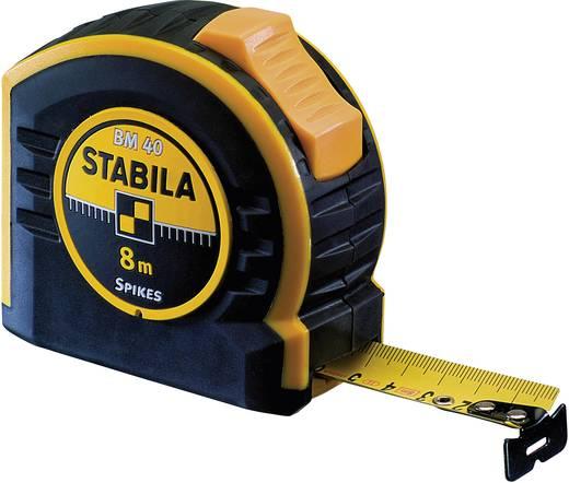 Maßband 8 m Stahl Stabila BM 40 17745 Kalibriert nach ISO