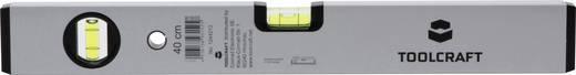 TOOLCRAFT 1244213 1244213 Leichtmetall-Wasserwaage 40 cm 1 mm/m Kalibriert nach: Werksstandard (ohne Zertifikat)