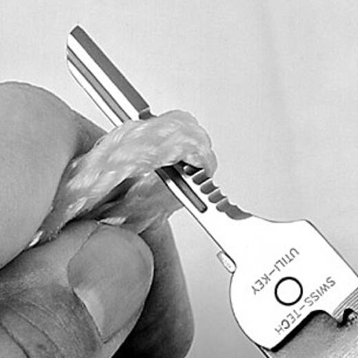 SWISSTECH Schlüssel-Multitool Anzahl Funktionen 6 Edelstahl 97040 Utili-Key