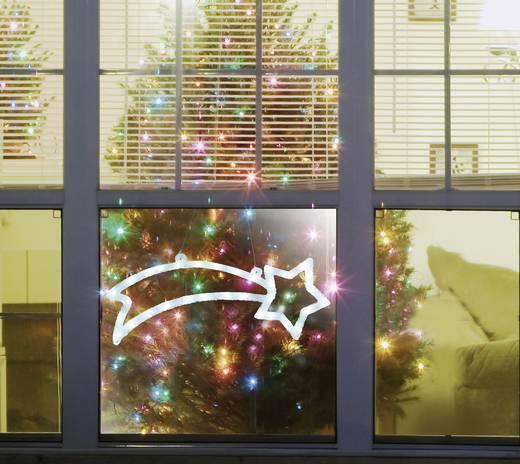 Polarlite LDE-02-009 LED-Weihnachtsdekoration Sternschnuppe Kalt-Weiß LED Weiß