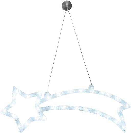 led weihnachtsdekoration sternschnuppe kalt wei led. Black Bedroom Furniture Sets. Home Design Ideas