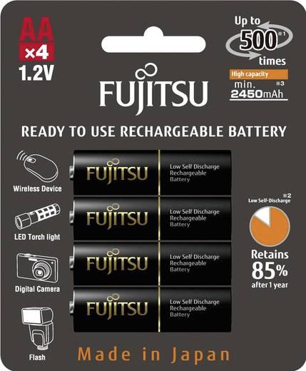 Mignon (AA)-Akku NiMH Fujitsu X Ready-to-use Micro-Akku 2450 mAh 1.2 V 4 St.