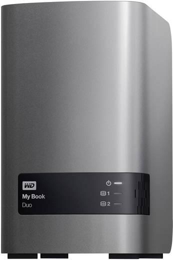 Externe Festplatte 8.9 cm (3.5 Zoll) 6 TB Western Digital My Book® Duo Metallic-Silber, Anthrazit USB 3.0 RAID-fähig, Cl