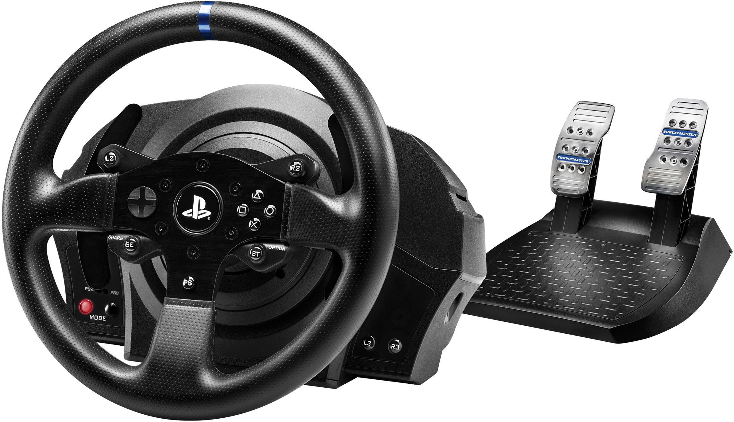 thrustmaster t300 rs racing wheel lenkrad playstation 4 playstation 3 pc schwarz kaufen. Black Bedroom Furniture Sets. Home Design Ideas