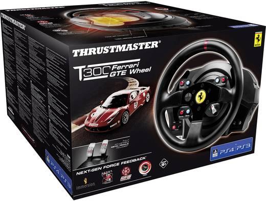 Lenkrad Thrustmaster T300 Ferrari GTE Wheel PlayStation 4, PlayStation 3, PC Schwarz