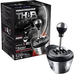 Thrustmaster TX Racing Wheel TH8A Shifter AddOn radiaca páka PlayStation 3, PlayStation 4, PC, Xbox One čierna, chróm