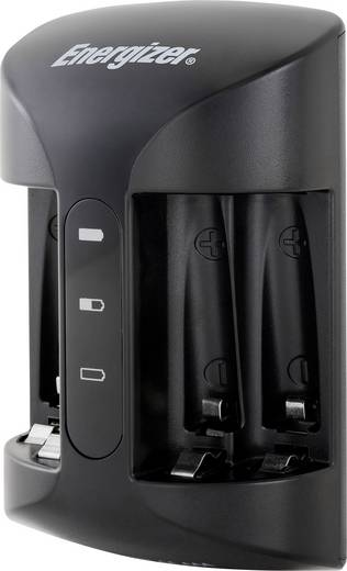 Rundzellen-Ladegerät NiMH inkl. Akkus Energizer Pro Charger Micro (AAA), Mignon (AA)