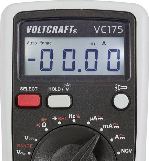 Hand-Multimeter digital VOLTCRAFT VC175 Kalibriert nach: ISO CAT III 600 V Anzeige (Counts): 4000
