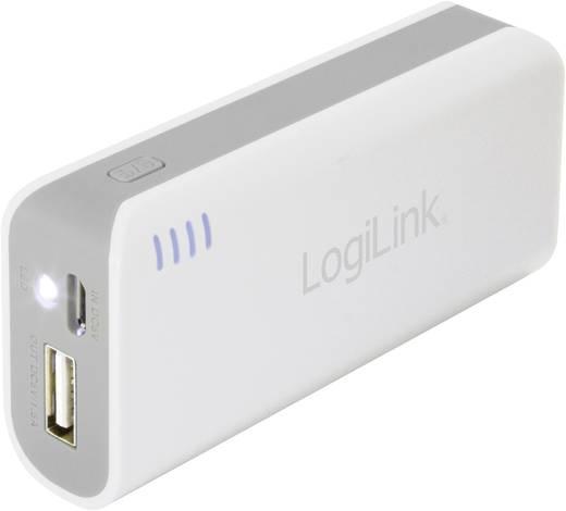 LogiLink Mobile-Power 5000 Powerbank (Zusatzakku) Li-Ion 5000 mAh