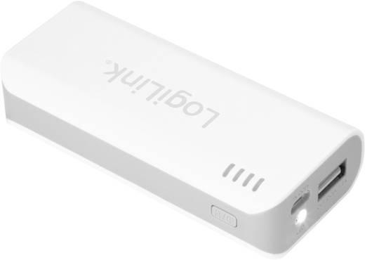 Powerbank (Zusatzakku) LogiLink Mobile-Power 5000 Li-Ion 5000 mAh