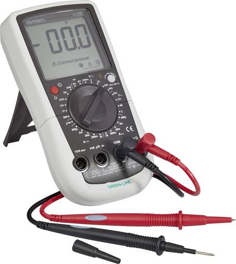 Hand-Multimeter digital VOLTCRAFT VC250 Kalibriert nach: ISO CAT III 600 V Anzeige (Counts): 2000