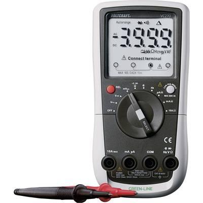 VOLTCRAFT VC270 Hand-Multimeter digital Kalibriert nach: ISO CAT III ...