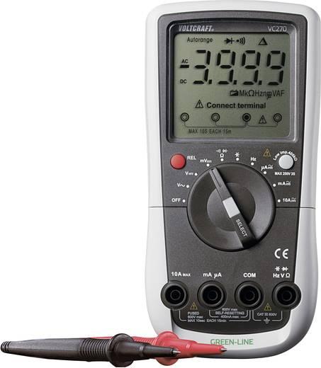Hand-Multimeter digital VOLTCRAFT VC270 Kalibriert nach: Werksstandard (ohne Zertifikat) CAT III 600 V