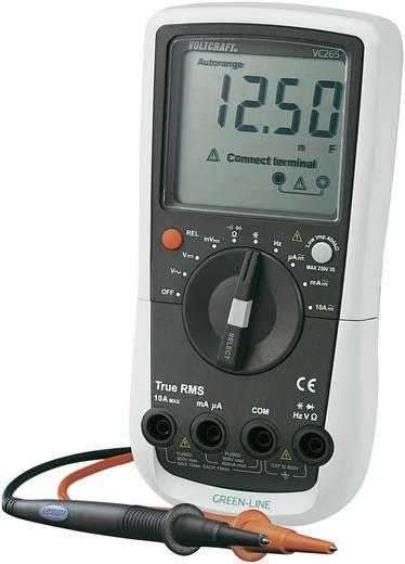 Hand-Multimeter digital VOLTCRAFT VC265 Kalibriert nach: Werksstandard (ohne Zertifikat) CAT III 600 V Anzeige (Counts)