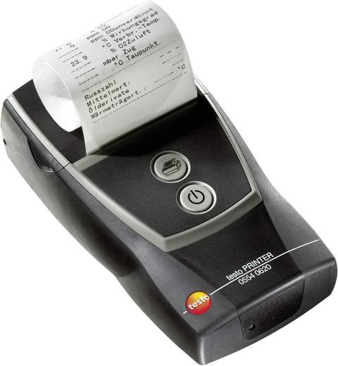 testo BLUETOOTH®-Drucker mit kabelloser Bluetooth-Schnittstelle, inkl. 1 Rolle Thermopapier, Akku und Netzteil