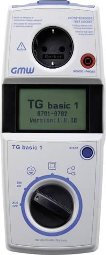 GMW TG basic 1 BL VDE-Prüfgerät,Sicherheitstester nach DIN EN 62638/DIN VDE 0701-0702 Kalibriert nach ISO
