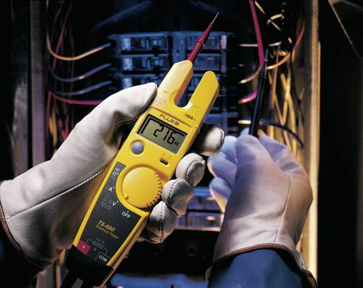 Zweipoliger Spannungsprüfer Fluke T5-600 1 V - 600 V/AC/DC LCD (4000 Counts) CAT III 600V