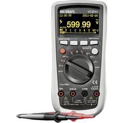Digitálne/y ručný multimeter VOLTCRAFT VC890 OLED, Kalibrované podľa (ISO), OLED displej, datalogger
